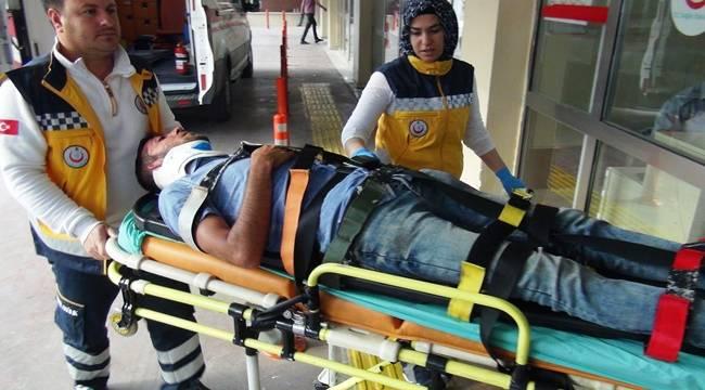 Yeni Mezarlık Yolunda Kaza, 1 Yaralı