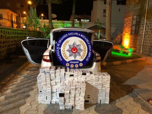 130 bin paket kaçak sigara yakalandı
