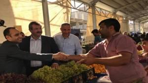 Aday Toru Seçim Çalışmalarını Sürdürüyor