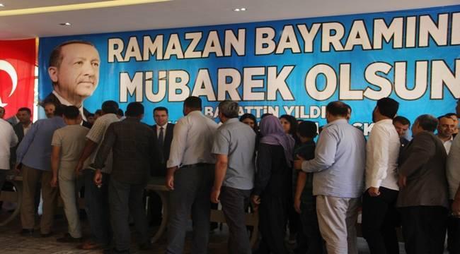 AK Parti Şanlıurfa Bayramlaştı