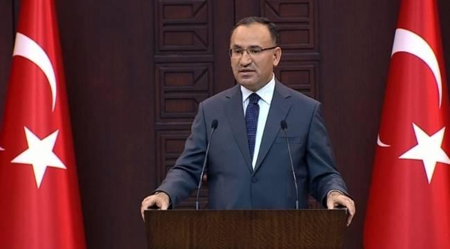 Başbakan Yardımcısı Bozdağ'dan Suruç Açıklaması