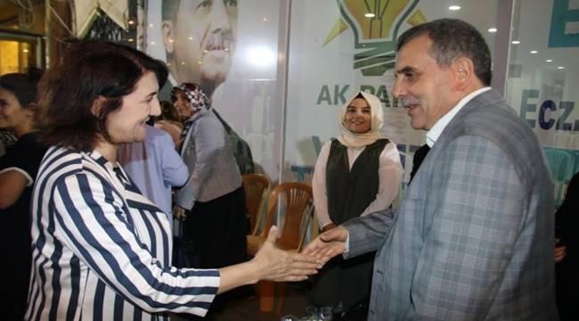 Beyazgül'den AK Parti'ye Destek Çağrısı