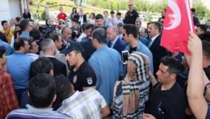 Erdoğan'dan Yıldız ve şehit ailesine taziye ziyareti