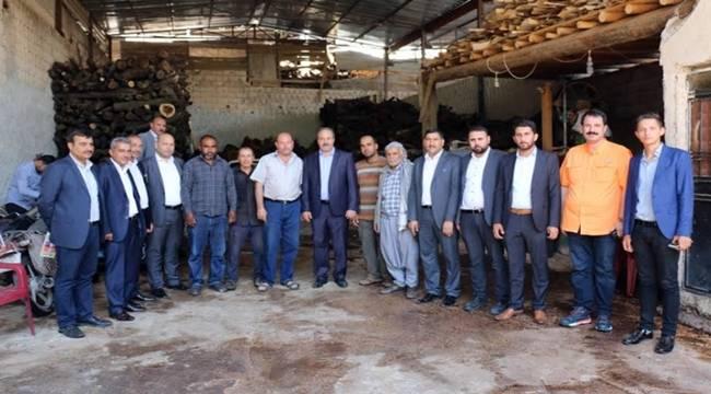 Halil Özcan'dan Esnaf ve STK Ziyareti