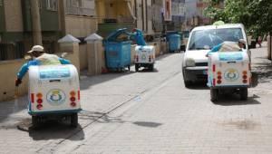 Haliliye'de Elektrikli İlaçlama Timi Kuruldu
