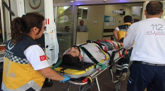İnşaattan Düşen İşçi Ağır Yaralandı