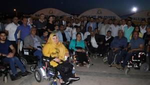 Kasım Gülpınar Engellilerle İftar Yaptı