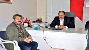 Kasım Gülpınar, Fatih Bucak'ı Ziyaret Etti