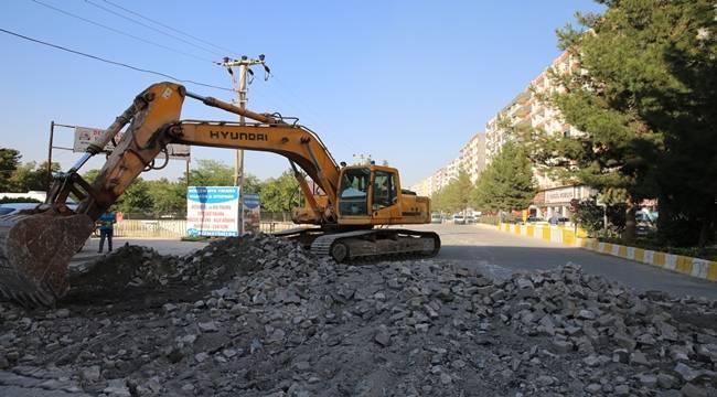 Kızıltepe'nin Yol Sorunu Bitiyor