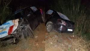 Milletvekili Adayı Feci Kaza Yaptı