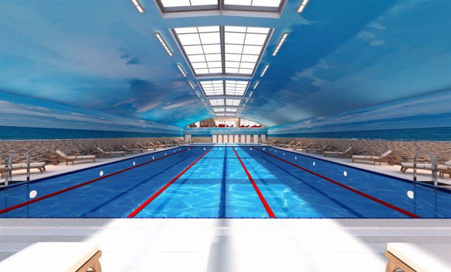 Olimpik yüzme havuzu açılıyor