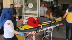 Kabahaydar'da Kaza 3 Yaralı