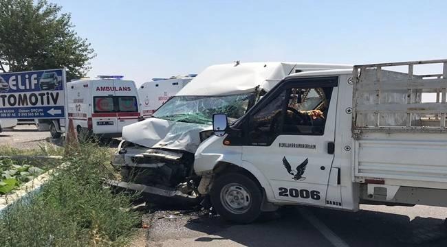 Suruç Çadır Kentte Kaza, 8 Yaralı