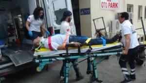 Trafik kazasında aynı aileden 5 kişi yaralandı