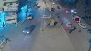 Urfa'da 5 Kişinin Yaralandığı Kaza Kamerada