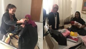 Urfa'da 50 Bebeğe Bebek Kiti Hediye Etti