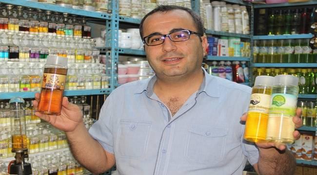 Urfa'da Kahve, Fıstık ve Cevizli Kolonya Üretildi