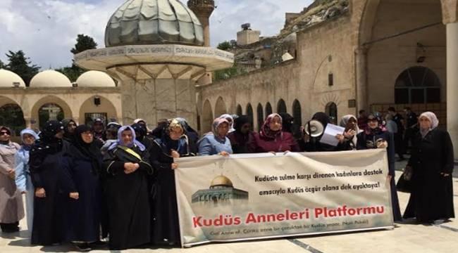 Urfalı Kudüs Anneleri Mavi Marmara Olayına Dikkat Çekti