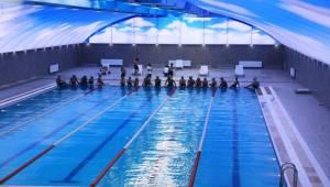 Yarı Olimpik Yüzme Havuzu Hizmete Sunuldu