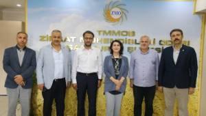 Zemzem Gülender Açanal'dan Urfa ZMO'ya Ziyaret