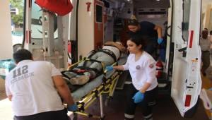 Abide Kavşağında Kaza, 1 Yaralı