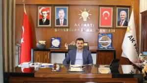 AK Parti Şanlıurfa İl Başkanı Yıldız'dan 15 Temmuz Mesajı