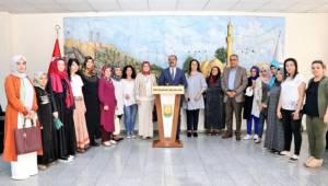 AK Parti Şanlıurfa Kadın Kolları Çiftçi İle Görüştü