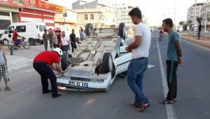Akçakale'de Kaza, 2 Yaralı
