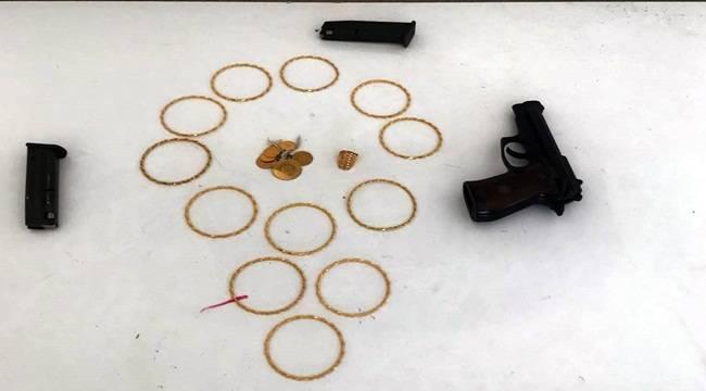 Altın Hırsızları Tutuklandı