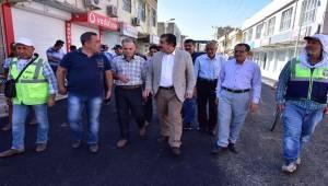 Atilla Gazi Caddesini İnceledi