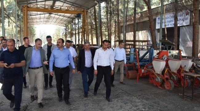 Başkanlar Teknokenti Ziyaret Etti