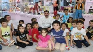 Baydilli Miniklere Oyuncak Müzesini Tanıttı