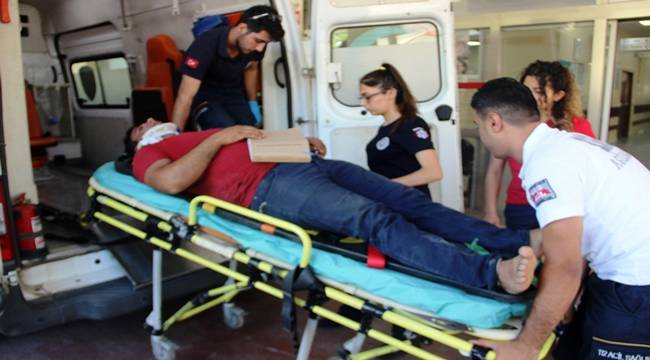 Beykapısında Kaza, 1 Yaralı