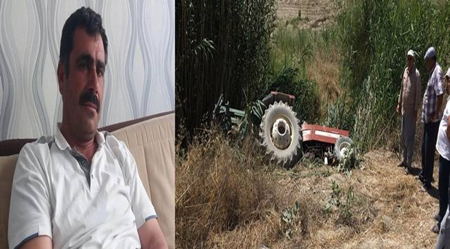 Bozova'da Traktör Devrildi, 1 Ölü