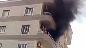 Ceylanpınar'da Korkutan Yangın