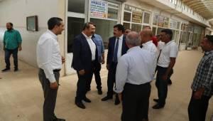 Ekinci, Zahireciler Borsası Esnafını Ziyaret Etti