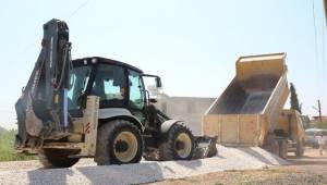 Haliliye'de 4 Mahallede Yol Yapım Çalışması