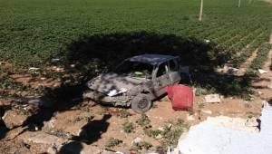 İstinat Duvarına Çarpan Otomobildeki 4 Kişi Yaralandı