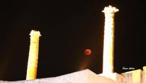 Kanlı Ay Tutulması Urfa'dan Net Şekilde İzlendi