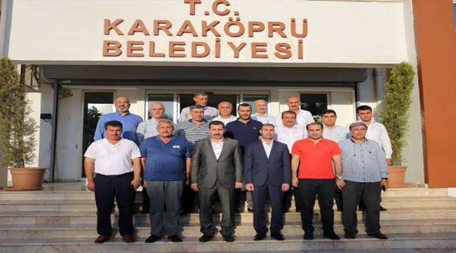 Karaköprü Belediyespor'dan Başkan Baydilli'ye Ziyaret