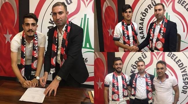 Karaköprü Genç Futbolcular ile Tekrardan Anlaştı