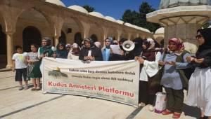 Kudüs Anneleri Ebru Özkan'a Dikkat Çekti