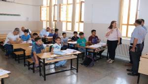 MEB ve UNİCEF Temsilcileri Eyyübiye HEM'de