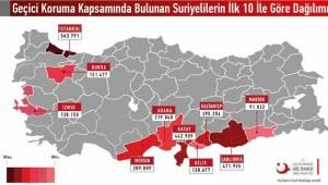 Şanlıurfa'daki Suriyeli Sayısı Netleşti