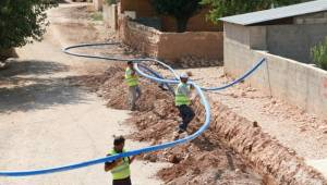 Şanlıurfa'nın Kırsal Mahalleleri Suya Kavuşuyor