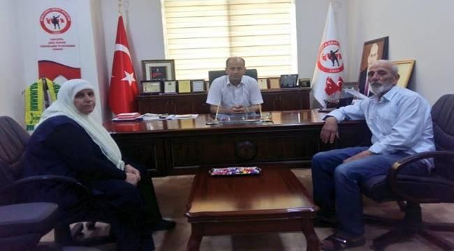 Şehit Halat'ın Ailesinden Başkan Yavuz'a Ziyaret