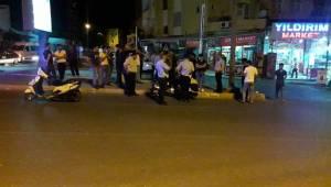 SSK Caddesinde Kaza, 2 Yaralı