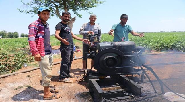 Tarlalarına Su Alamayan Çiftçiler Yetkililere Seslendi