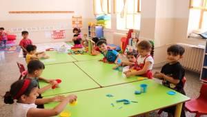 Urfa'da Suriyeli Çocuklar için Anasınıfı Açıldı
