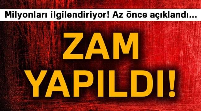 Elektrik Zammı Resmi Gazete'de Yayımlandı